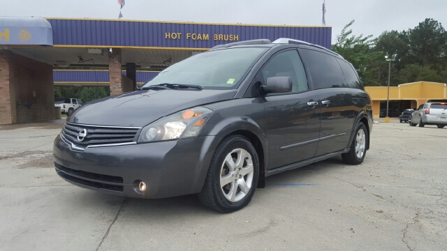 2008 NISSAN QUEST 35 SE 4DR MINI VAN grey this van has so many things to brag about its insane