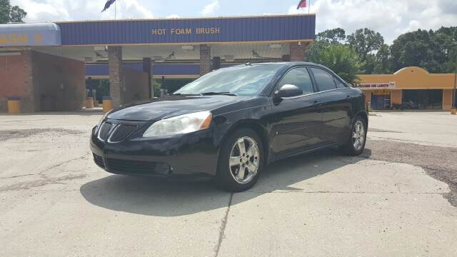 2006 PONTIAC G6 GT 4DR SEDAN black fully loaded pontiac g6 it comes with remote start  adjustab