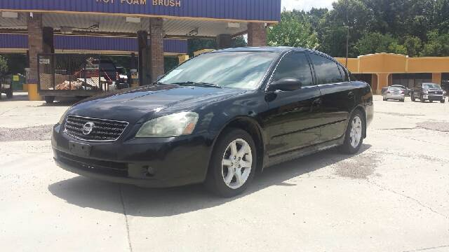2006 NISSAN ALTIMA 25 SL 4DR SEDAN black fully loaded sl model with heated leather and power sea