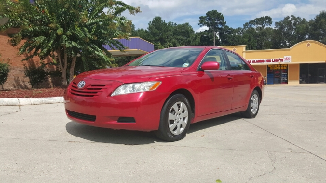 2009 TOYOTA CAMRY BASE 4DR SEDAN 5A red 4 door automatic cold ac super clean in and out drives l