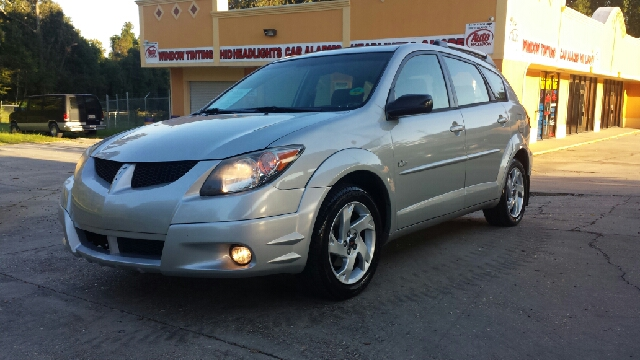 2004 PONTIAC VIBE BASE FWD 4DR WAGON silver great little car here its made by toyota and has all