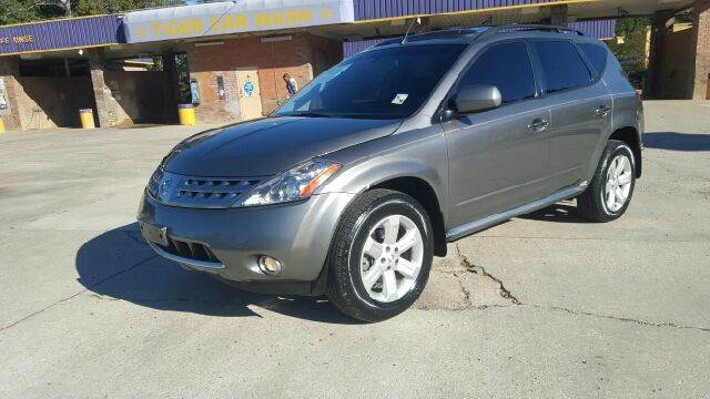 2006 NISSAN MURANO SL AWD 4DR SUV grey very nice suv fully loaded with black leather sunroof b