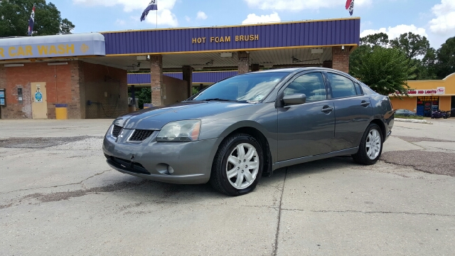 2006 MITSUBISHI GALANT SE 4DR SEDAN black 06 mitsubishi galant es fully loaded it has power wind