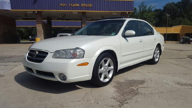 2002 NISSAN MAXIMA SE 4DR SEDAN pearl white super rare car has factory navigation bose sound an