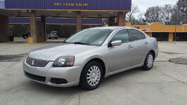 2011 MITSUBISHI GALANT SE 4DR SEDAN silver loaded out with leather and wood grain inside excellen