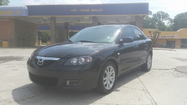 2007 MAZDA MAZDA3 I SPORT 4DR SEDAN 2L I4 4A black abssabsac package air conditioning airba