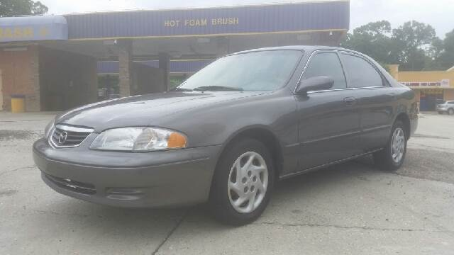2001 MAZDA 626 LX 4DR SEDAN gray mazda 626 lx it has cold ac power windows and power locks it r
