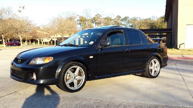 2003 MAZDA MAZDASPEED PROTEGE BASE NEW 4DR SEDAN black abs - 4-wheel anti-theft system - alarm c