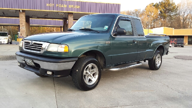 2000 MAZDA B-SERIES PICKUP B3000 SE 4DR EXTENDED CAB SB green nice truck new tires non smoker run