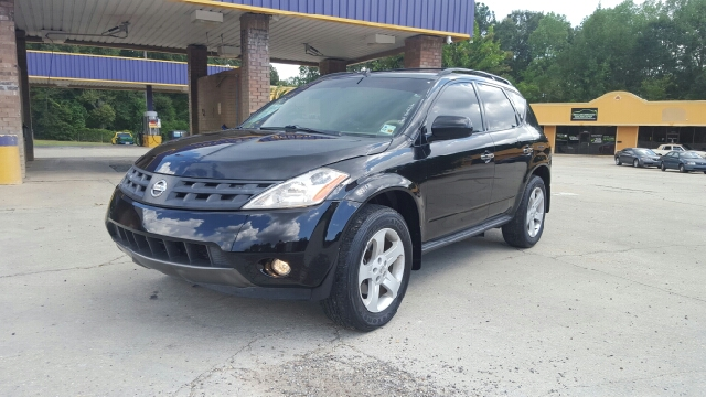 2004 NISSAN MURANO SL 4DR SUV super black abs - 4-wheel anti-theft system - alarm center consol