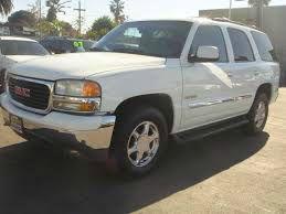 2001 GMC YUKON SLT 2WD 4DR SUV white 53l v8 ohv 16v fi engine abs - 4-wheel anti-theft system