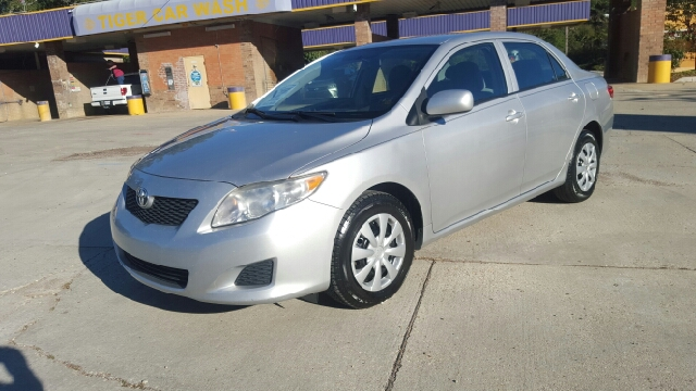 2010 TOYOTA COROLLA LE 4DR SEDAN 4A silver 2-stage unlocking abs - 4-wheel active head restrain