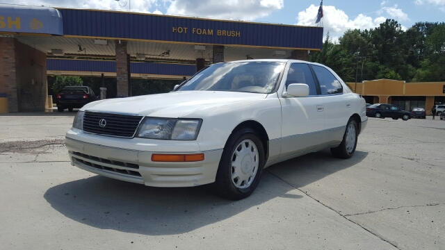 1996 LEXUS LS 400 BASE 4DR SEDAN white super low mileage 1 owner car loaded with everything imag