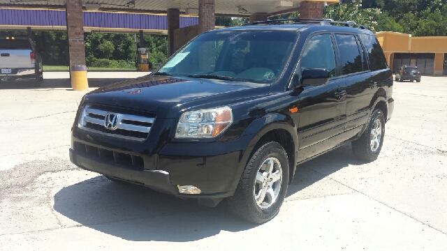 2007 HONDA PILOT EX-L 4DR SUV black top of the line ex-l model with heated and power leather seat
