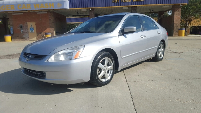 2004 HONDA ACCORD EX WLEATHER 4DR SEDAN WLEATHER silver fully loaded ex-l model with disc chang