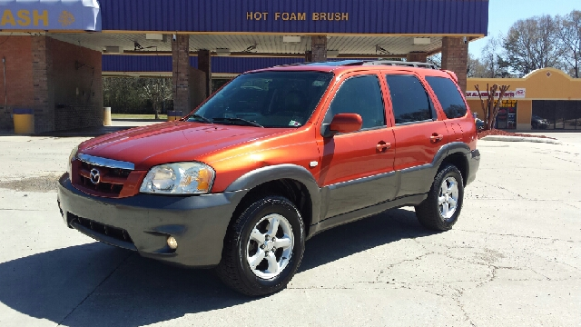 2006 MAZDA TRIBUTE S 4DR SUV orange abs - 4-wheel airbag deactivation - occupant sensing passeng