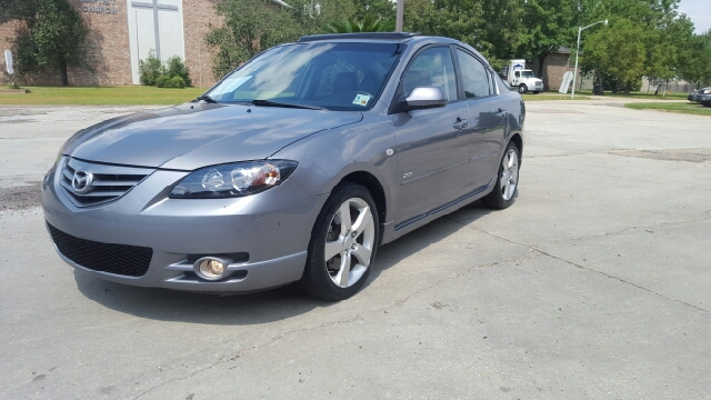 2004 MAZDA MAZDA3 S 4DR SEDAN charcoal grey beautiful low mile 2 owner non smokers car has 0 a