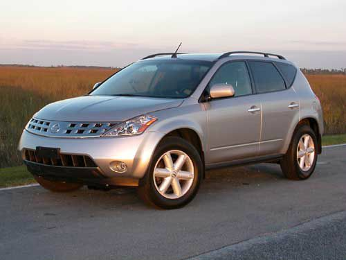 2005 NISSAN MURANO SE 4DR SUV silver abs - 4-wheel adjustable pedals - power anti-theft system -