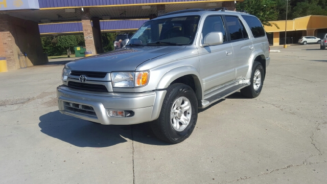 2001 TOYOTA 4RUNNER LIMITED 2WD 4DR SUV silver abs - 4-wheel anti-theft system - alarm axle rat