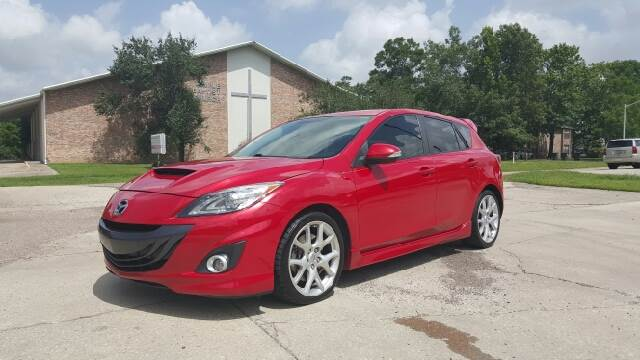 2012 MAZDA MAZDASPEED3 TOURING 4DR HATCHBACK WR PRODUC pearl red 1 owner 0 accidents very rare