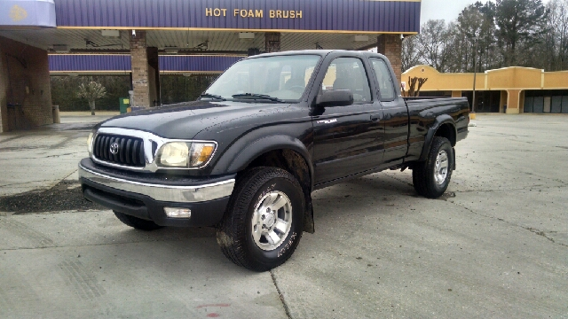 2002 TOYOTA TACOMA PRERUNNER V6 2DR XTRACAB 2WD SB black axle ratio - 391 cassette front air c