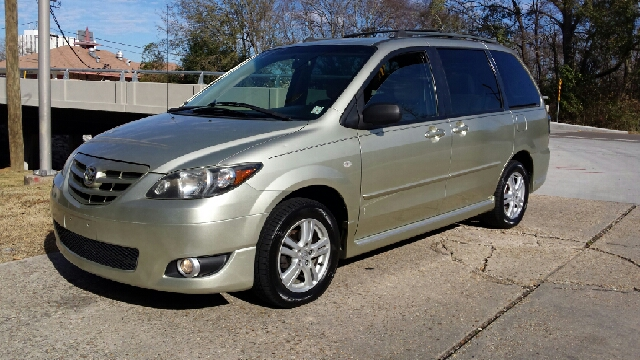 2005 MAZDA MPV LX-SV 4DR MINIVAN tan this is a super clean and affordable little mini van it has