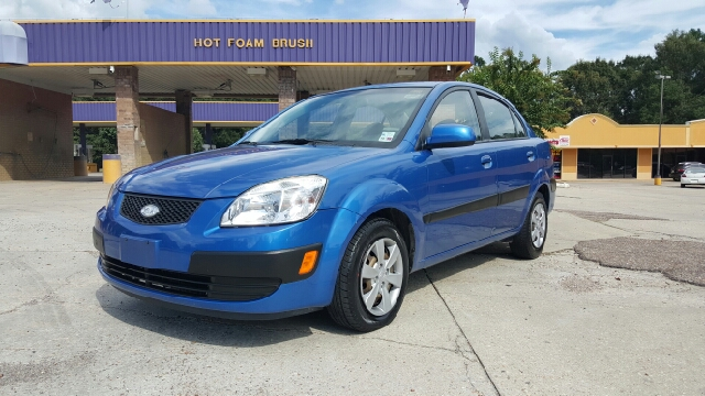 2009 KIA RIO LX 4DR SEDAN 4A blue airbag deactivation - occupant sensing passenger antenna type