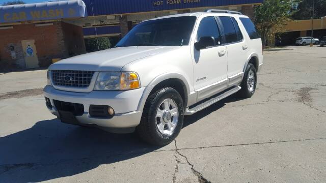 2002 FORD EXPLORER LIMITED 2WD 4DR SUV pearl white beautiful one owner non smoker 0 accidents