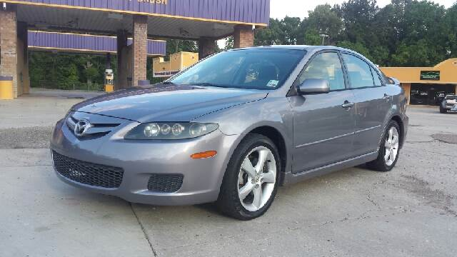 2007 MAZDA MAZDA6 I GRAND TOURING 4DR SEDAN 23L grey 4 door automatic cold ac runs and looks g
