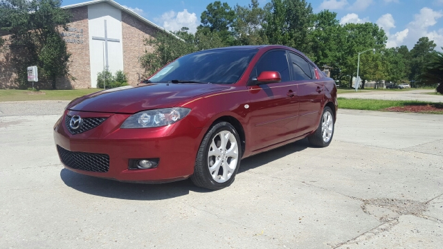 2009 MAZDA MAZDA3 I TOURING VALUE 4DR SEDAN 4A tan new tires non-smoker hid lights spoiler