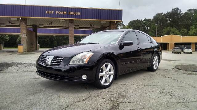 2006 NISSAN MAXIMA 35 SE 4DR SEDAN 35L V6 5A black super nice in and out non smoker and driv