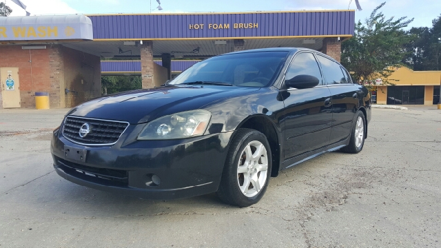 2006 NISSAN ALTIMA 25 SL 4DR SEDAN black fully loaded sl model with leather heated power seats