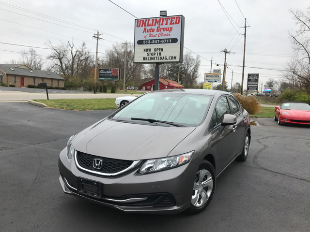 2013 Honda Civic LX 4dr Sedan 5A - West Chester OH