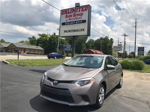 2015 Toyota Corolla for sale in West Chester, OH