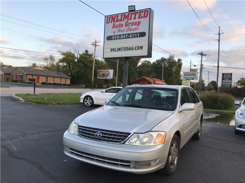 2003 Toyota Avalon for sale in West Chester, OH