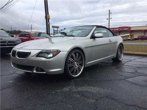 2006 bmw 6 series for sale knoxville tn. Black Bedroom Furniture Sets. Home Design Ideas
