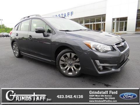 2016 Subaru Impreza for sale in Elizabethton, TN