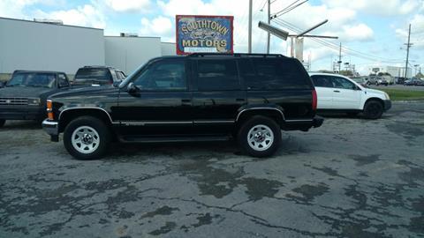 1997 Chevrolet Tahoe for sale in Albertville, AL