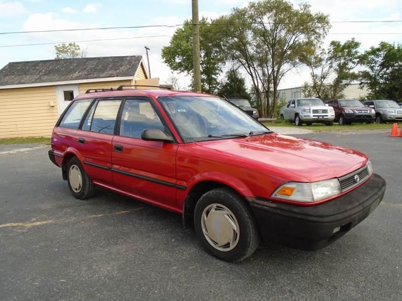 1991 toyota corolla deluxe 4dr wagon in winchester va for Top gear motors winchester va