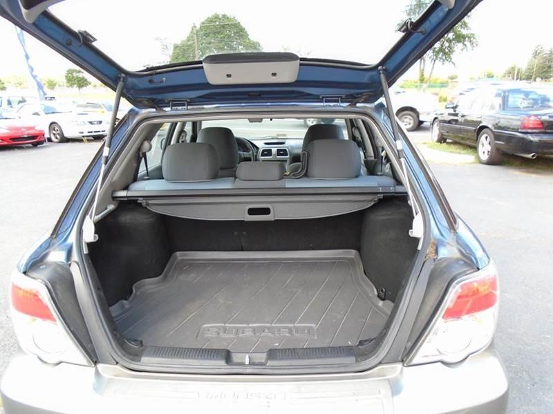 2007 subaru impreza outback sport awd 4dr wagon 2 5l f4 for Top gear motors winchester va