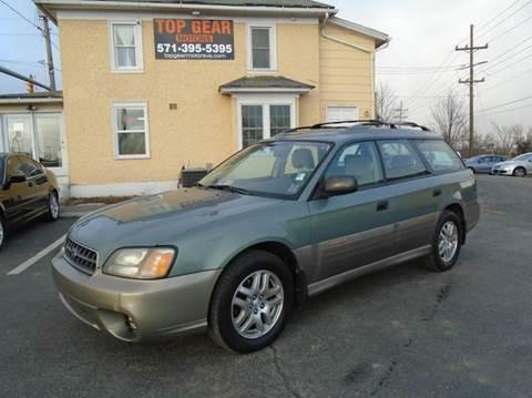 2003 Subaru Outback for sale in Winchester, VA