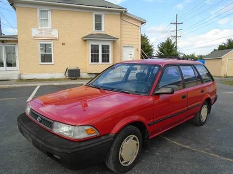 Toyota Winchester Va >> 1991 Toyota Corolla For Sale - Carsforsale.com