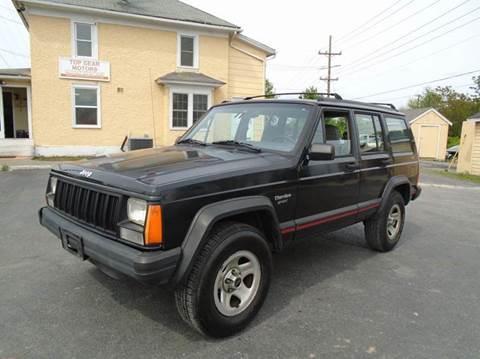 Jeep cherokee for sale winchester va for Top gear motors winchester va