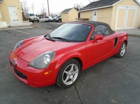2001 toyota mr2 spyder for sale for Top gear motors winchester va