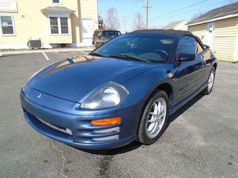 2002 Mitsubishi Eclipse Spyder for sale in Winchester, VA