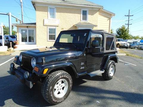 jeep wrangler for sale winchester va. Black Bedroom Furniture Sets. Home Design Ideas