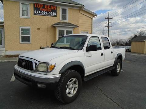 2001 toyota tacoma for sale for Top gear motors winchester va