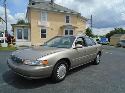 Used buick century for sale virginia for Top gear motors winchester va