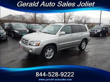 2007 Toyota Highlander for sale in Joliet, IL