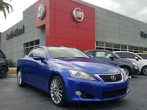 2010 Lexus IS 250C for sale in North Miami, FL